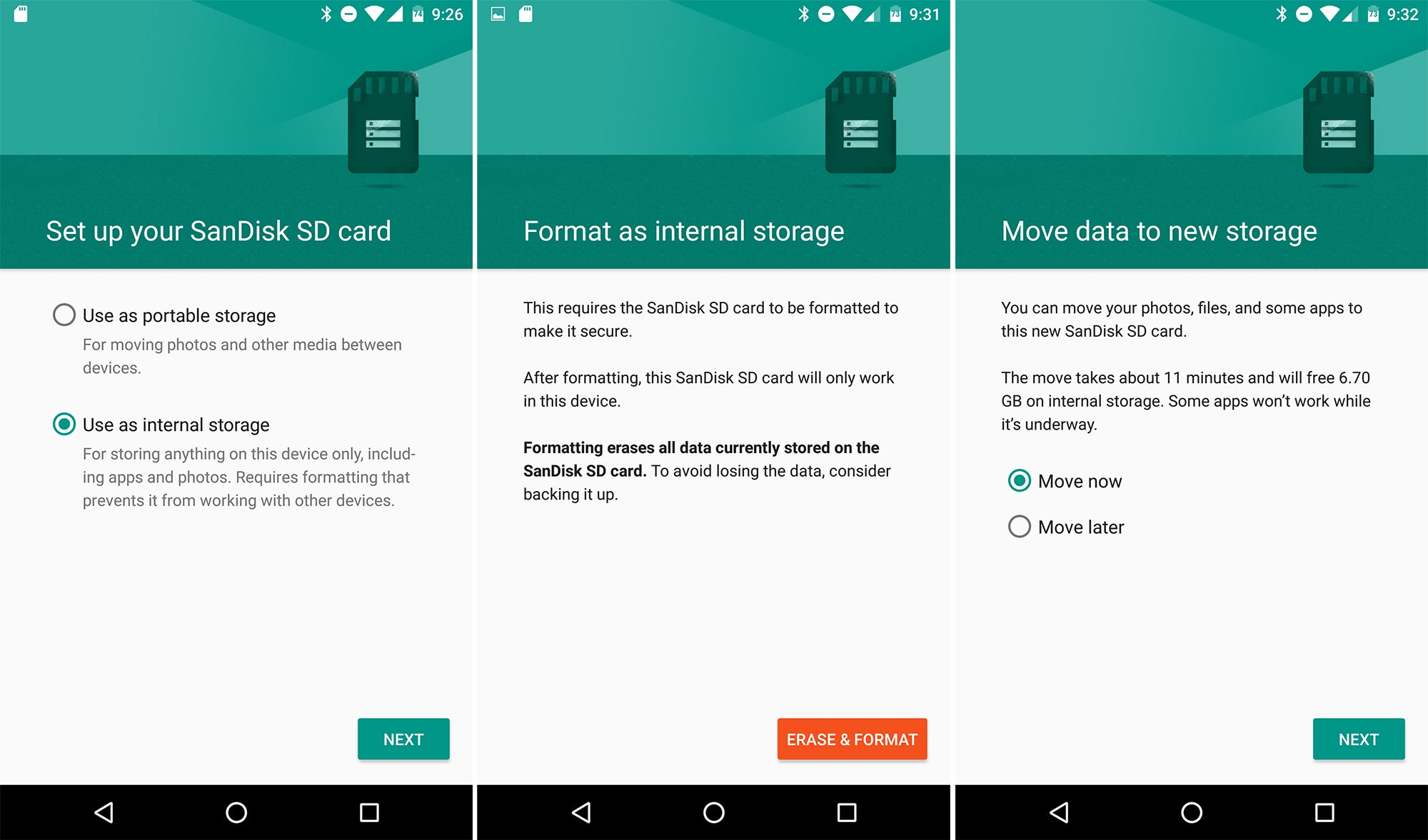adoptable storage in android 6.0: what it is, how it works | greenbot