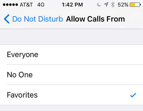 allow calls from