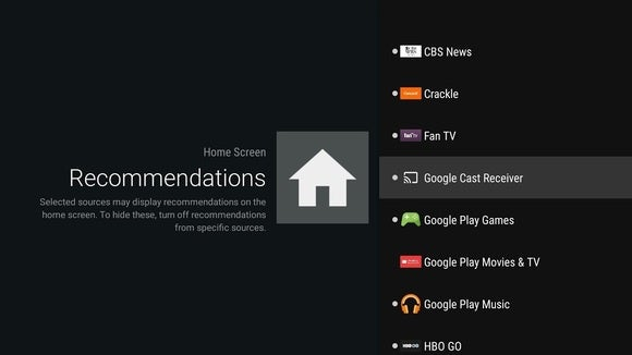 androidtvrecommendations