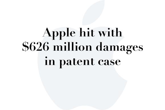 apple 626m damages