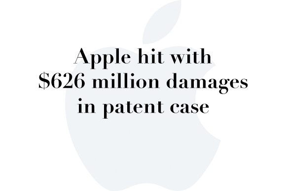 apple 626m damages