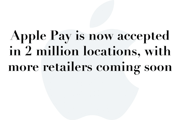 apple pay 2 million