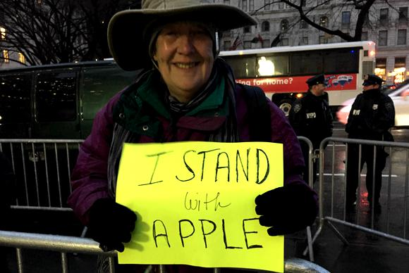 apple protest anne marie