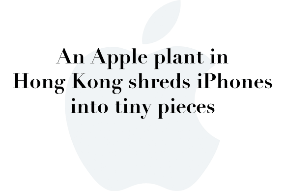 apple recycling hong kong