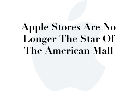 apple stores sales