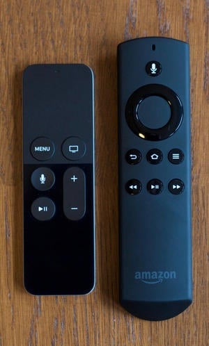 apple tv fire tv remotes