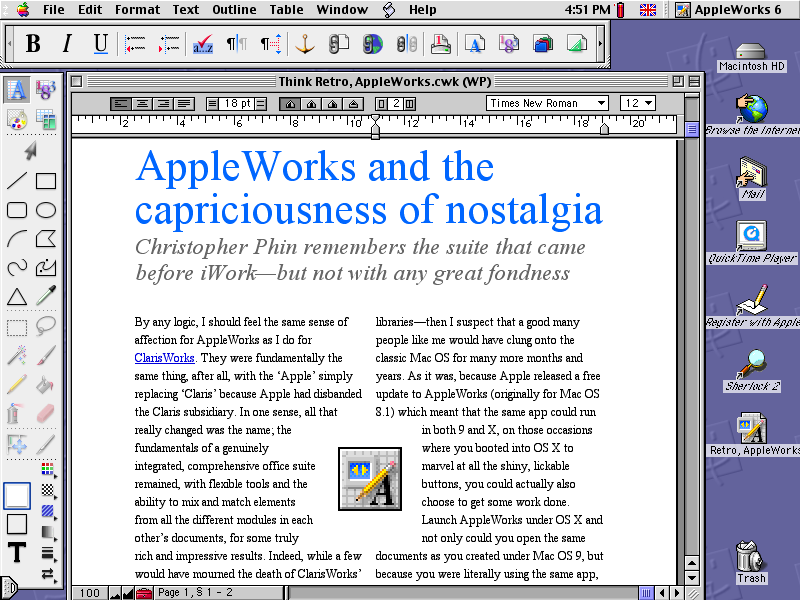 appleworks mac