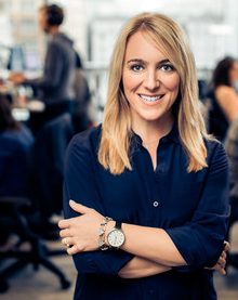 April Underwood,  head of product at Slack.