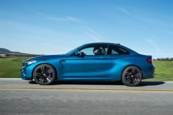 bmw m2 coupe side