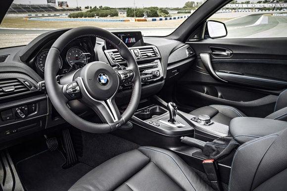 bmw m2 coupe interior