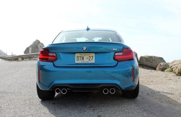 bmw m2 coupe rear jp