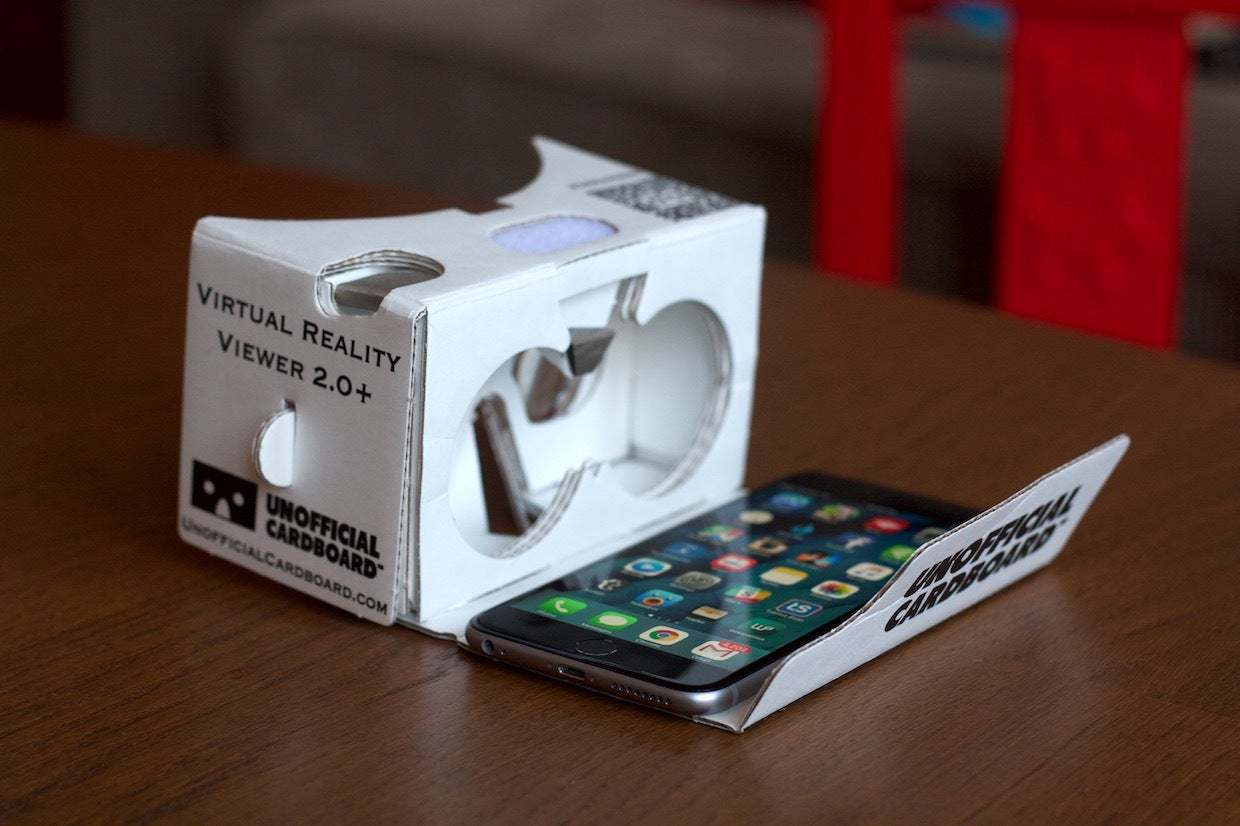 how to experience vr on your iphone with google cardboard macworld. Black Bedroom Furniture Sets. Home Design Ideas