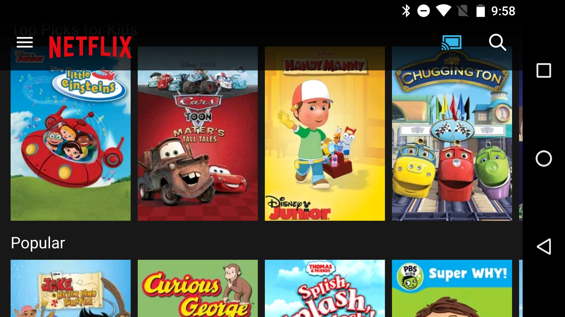 The best Chromecast apps and games for kids | Greenbot