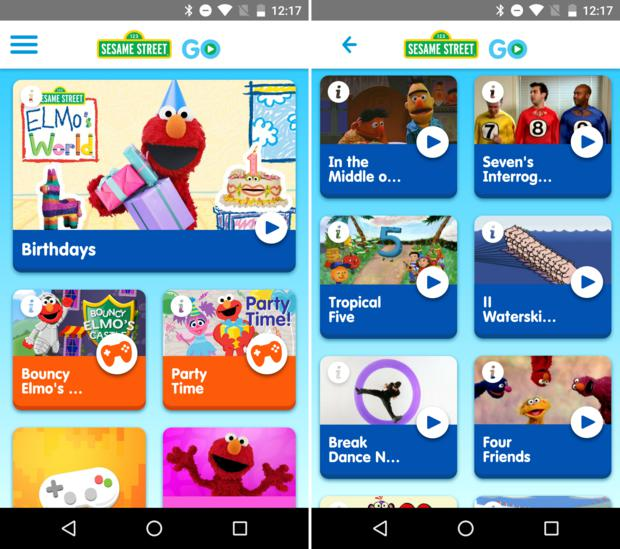 chromecast kids apps sesamestreetgo