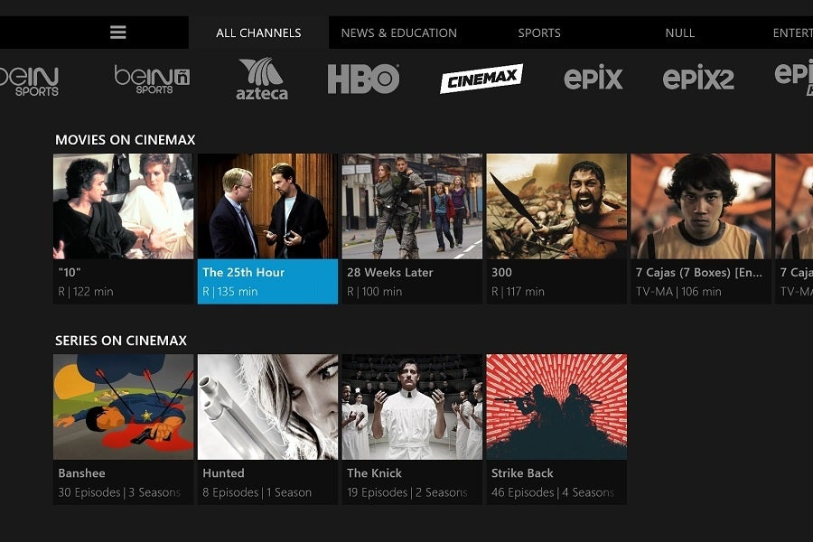 Sling Tv Samsung >> Cinemax Is Now Streaming To Cord Cutters Via Sling Tv Techhive