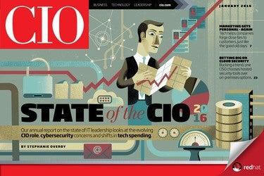 CIO January 2016 issue cover