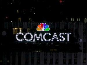 comcast logo nyc 30 rock