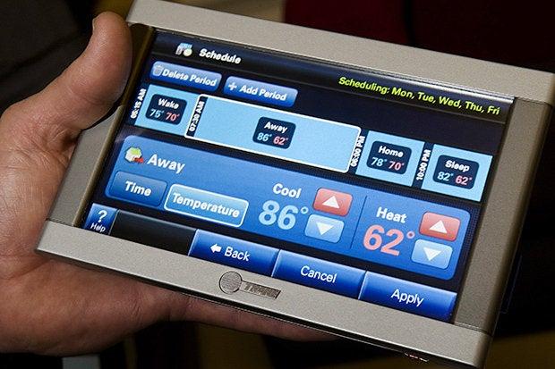 comfortlink thermostat trane