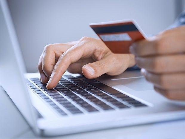 crdit card laptop purchase