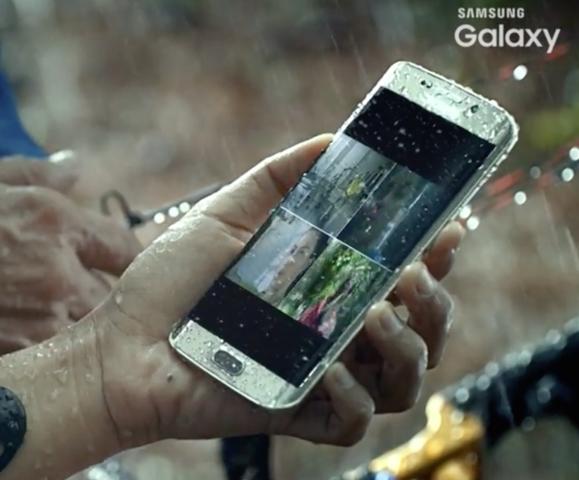 Samsung S7 Edge waterproof