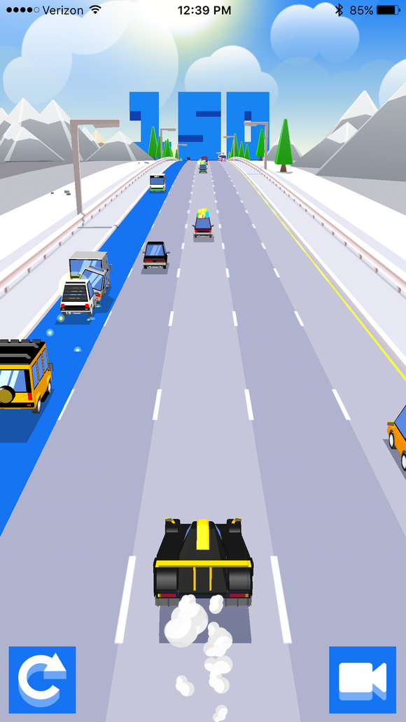 dashy crashy is a fun and flashy ios game but will it last macworld