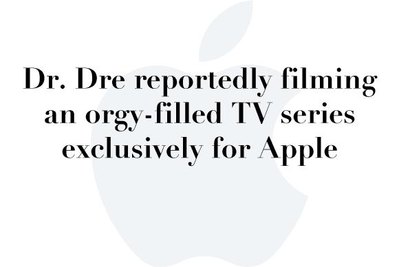 dre apple tv show