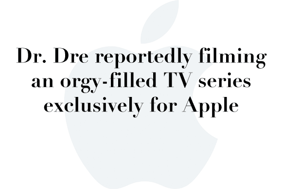 dre apple tv show
