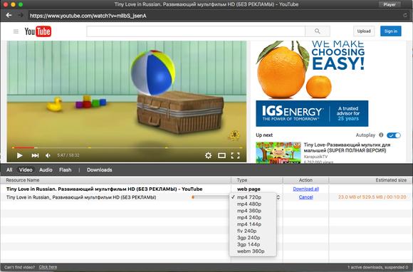 elmedia player pro downloading