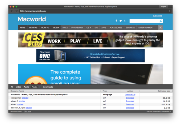 elmedia player pro web browser