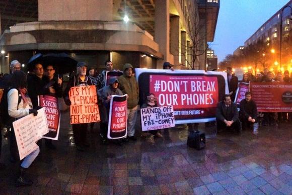 fftf fbi protest dc