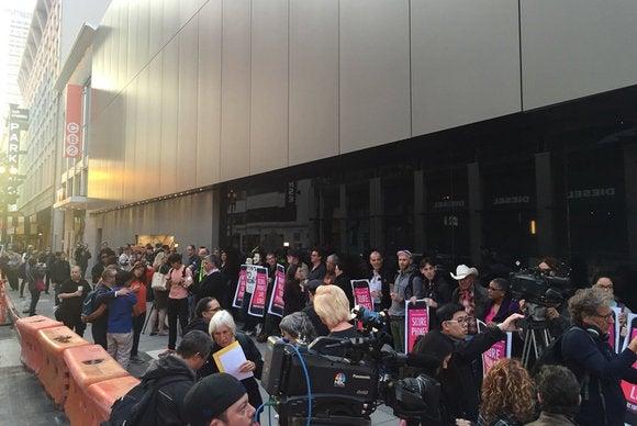 fftf fbi protest sf