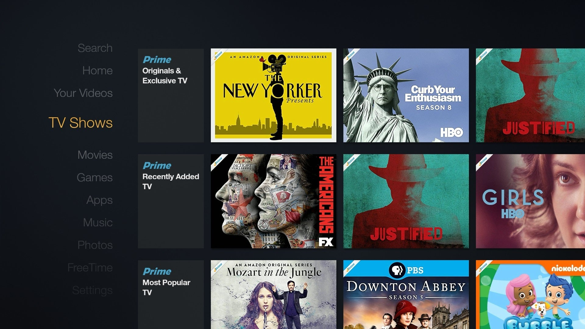 Amazon Prime Video Streaming Devices