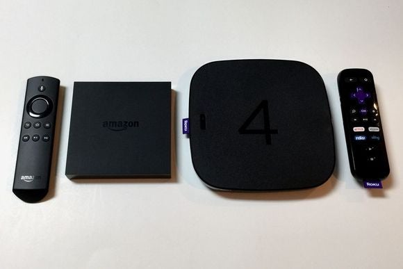 Roku 4 Vs Amazon Fire Tv Reviews Which Box Is Best For 4k Streaming Techhive