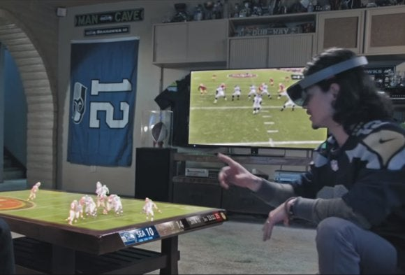 Microsoft Imagines Future Nfl Games Played Out On Your