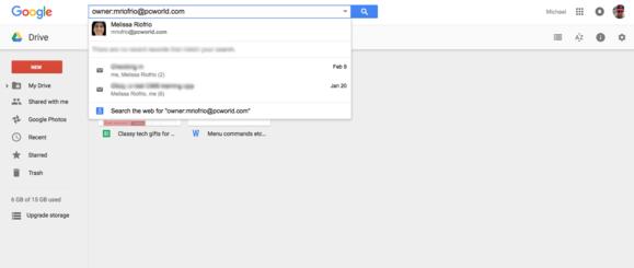 google drive search collaborators