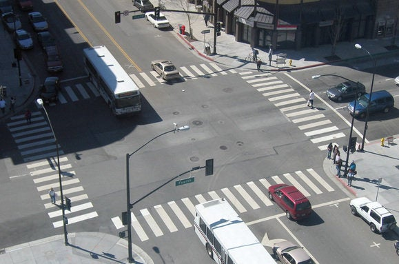 intersection 4way overview
