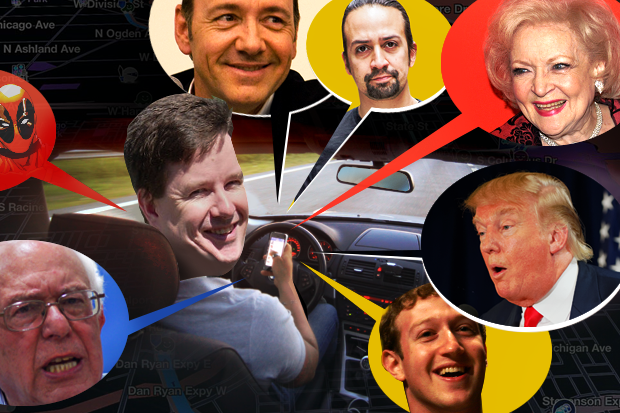 9 celebrities we want on our Waze GPS | Network World