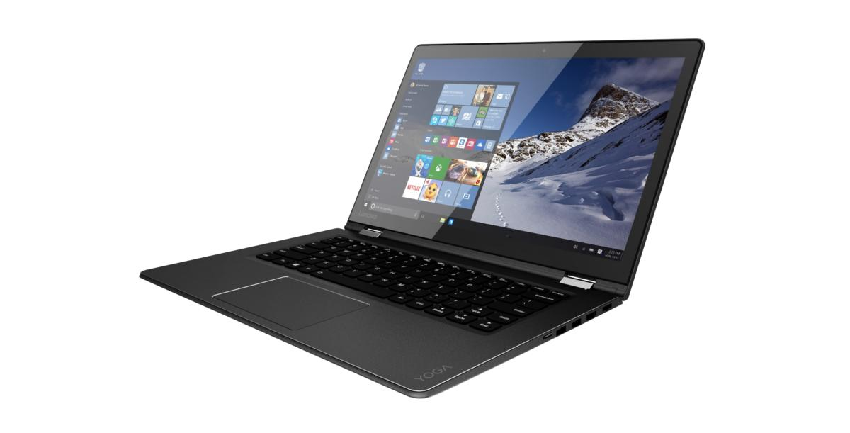 lenovo yoga 510 14 inch black laptop mode