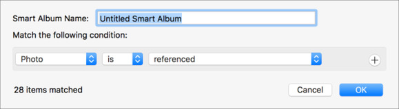 mac911 smart album referenced images