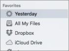 mac911 smart folder in sidebar