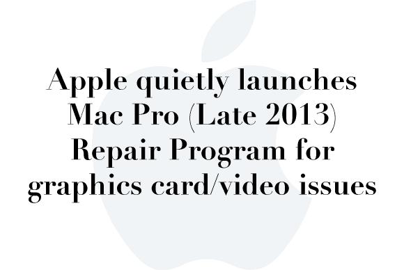 macpro repair program