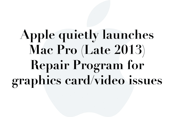macpro repair program