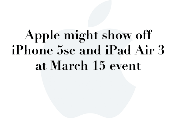 march 15 apple