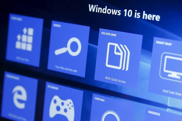 microsoft windows 10 features panels tool