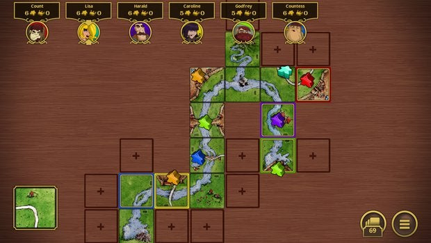 multiplayer games carcassonne