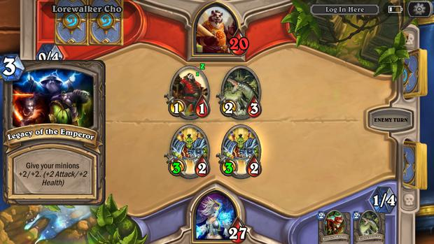 multiplayer games hearthstone