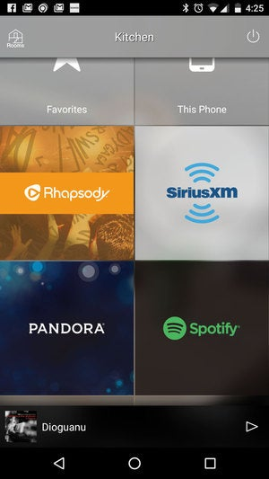 MusicCast services