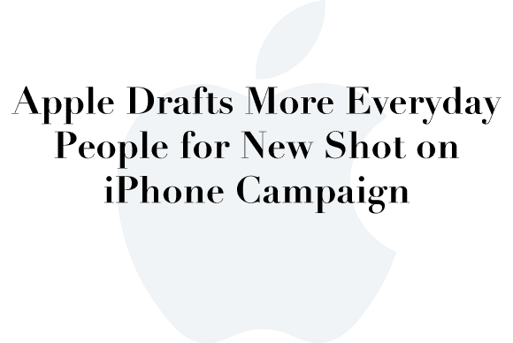 new iphone ad campaign
