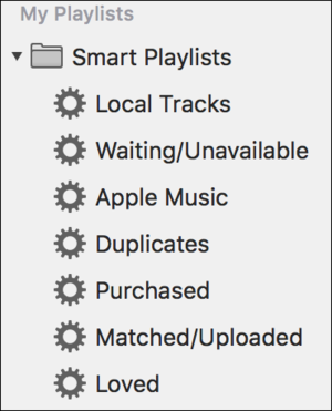 playlists non alpha