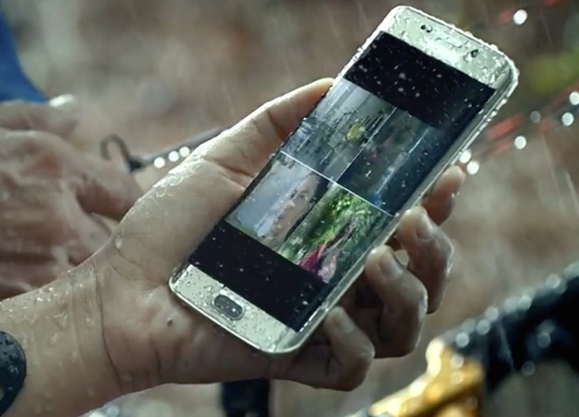 big sale ab529 a0f56 Lab test finds new Galaxy phones water resistant, but not waterproof ...